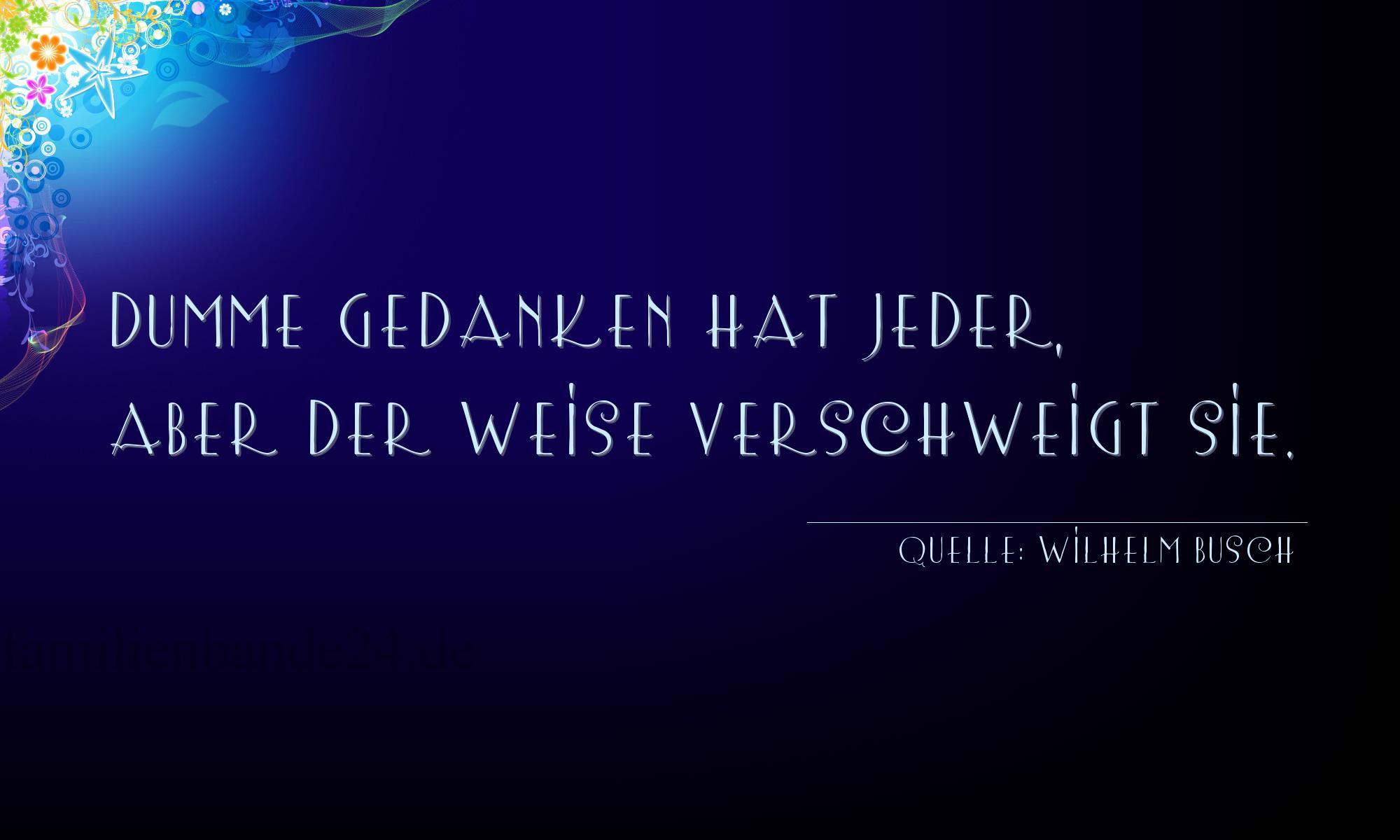 Wilhelm Busch Weihnachtsgedichte.Aphorismus 1280 Aus Die Besten Aphorismen