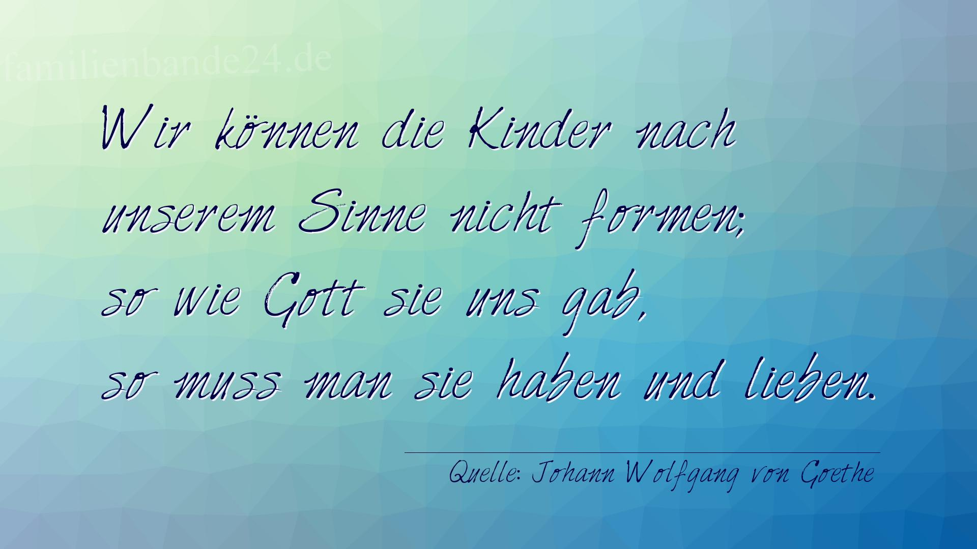 Goethe gedichte zur geburt