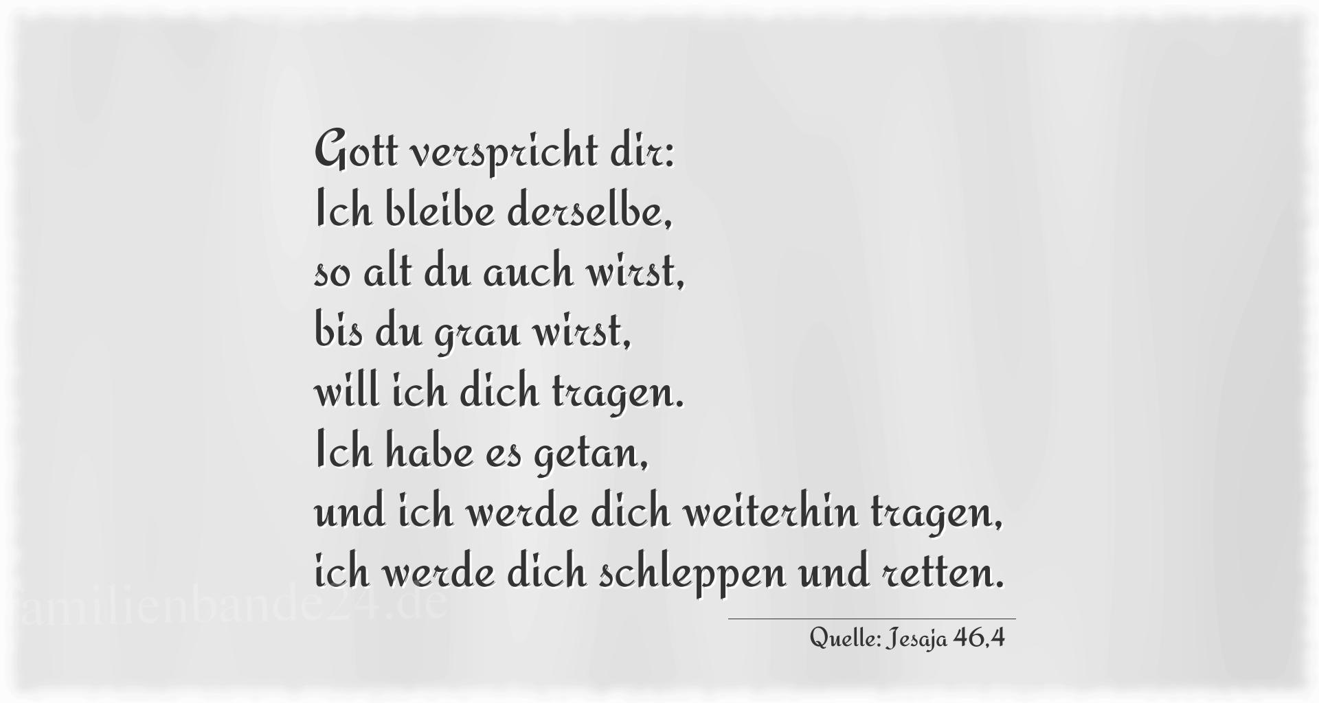 Thumbnail Zu Taufspruch Nummer 303 (von Jesaja 46 ...
