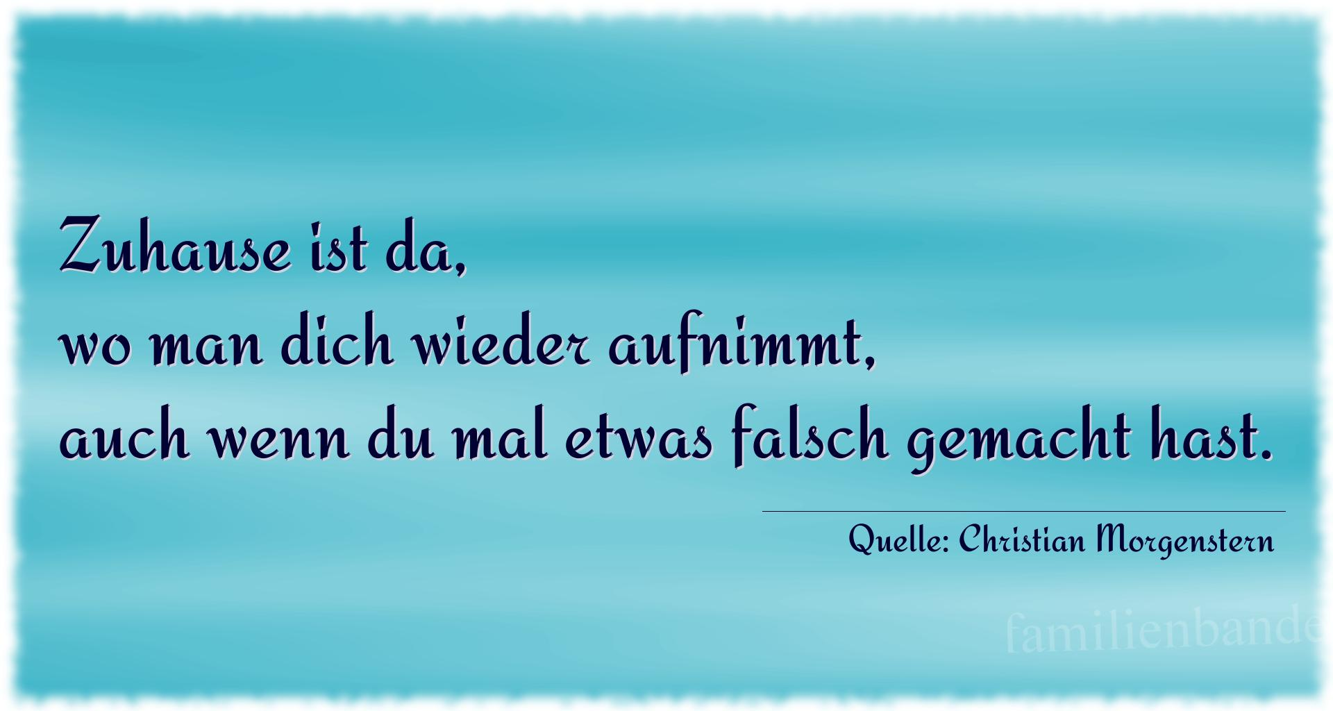 Familienspruch Nr. 334, Quelle Christian Morgenstern