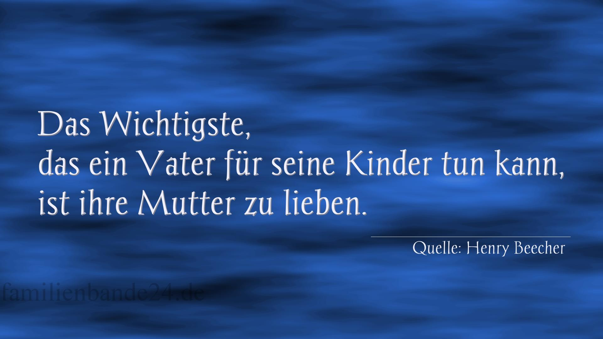 Familienspruch Nr. 353, Quelle Henry Beecher