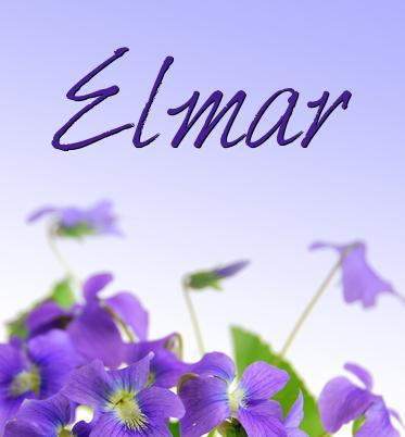 Vorname Elmar
