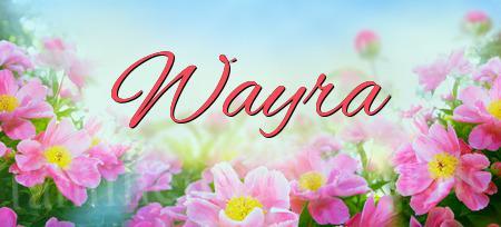 wayra namens bedeutung und herkunft des vornamen wayra. Black Bedroom Furniture Sets. Home Design Ideas